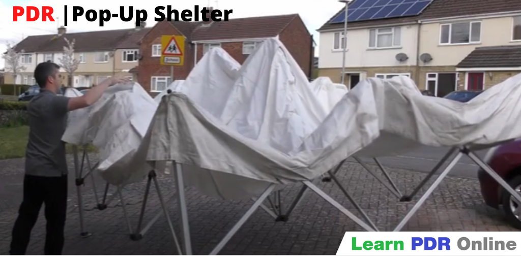 PDR Pop-Up Shelter